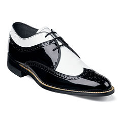 Stacy Adams® Dayton Spectator Mens Wingtip Leather Spectator Oxfords