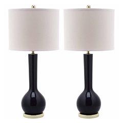 Safavieh Mei Long-Neck Ceramic Table Lamps- Set of2