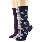 Mixit™ 3-pk Crew Socks
