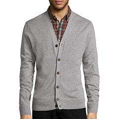 St. John's Bay® Long-Sleeve Cardigan Sweater