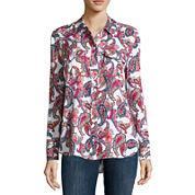 Liz Claiborne® Long-Sleeve Shirt - Tall