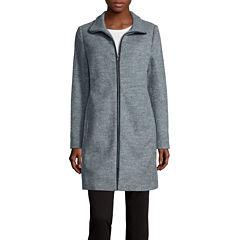 Liz Claiborne® Zip-Front Walker Jacket