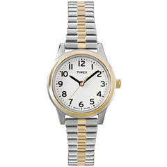 Timex® Easy Reader Womens Expansion Strap Watch