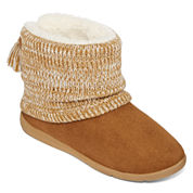 Mixit™ Womens Short Boots with Tassle