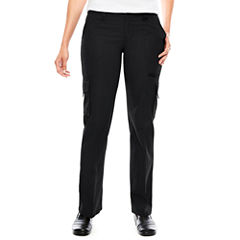 Dickies® Womens Relaxed-Fit Straight-Leg Cargo Pants
