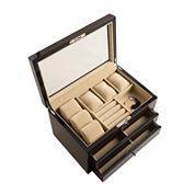 Hives and Honey Ashton Walnut Jewelry Box