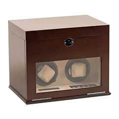 Hives and Honey Colton Watch Winder and Valet Jewelry Box