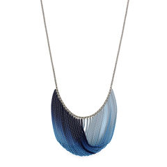 nicole by Nicole Miller® Ombré Multi-Chain Swag Necklace