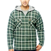 Wrangler/Riggs Workwear® Hooded Flannel Shirt Jacket