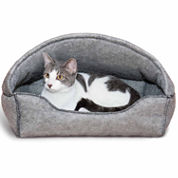 K & H Manufacturing Amazin' Kitty Hooded Lounger Pet Bed - 13