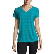 Xersion™ Short-Sleeve Mesh Inset T-Shirt, Track Jacket, or Pattern Jersey Leggings