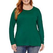 Stylus™ Long-Sleeve Crewneck T-Shirt
