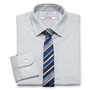 IZOD® Shirt and Clip-On Tie Set - Boys 7-20