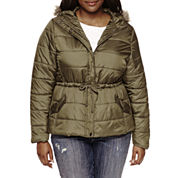 Arizona Puffer Jacket-Juniors Plus