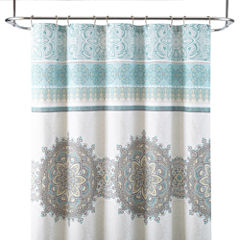 JCPenney Home™ Chloe Medallion Shower Curtain