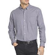 Van Heusen® Long-Sleeve No Iron Button Front Shirt