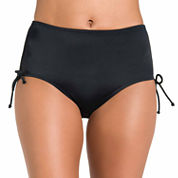 Jamaica Bay® Adjustable-Side Brief Swim Bottoms