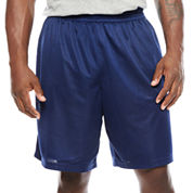 The Foundry Big & Tall Supply Co. Basic Mesh Workout Shorts Big and Tall