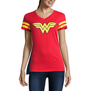 Wonder Woman Cape Tee - Juniors