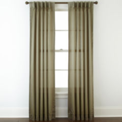 pinch pleat curtains & drapes for window - jcpenney