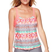 Splashletics™ Layered Tankini