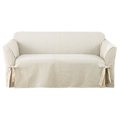 SURE FIT® Ticking Stripe 1-pc. Loveseat Slipcover