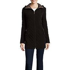 St. John's Bay® Side-Tab Quilt Jacket
