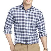 IZOD® Long-Sleeve Tartan Plaid Shirt
