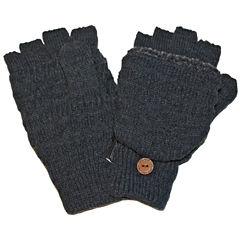 MUK LUKS® Fair Isle Fingerless Flip Top Gloves