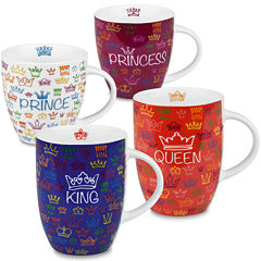 Konitz Royal Family Set of 4 Mugs