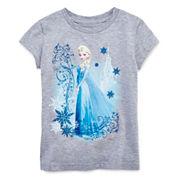 Disney Collection Frozen Short-Sleeve Graphic Tee - Girls 2-10