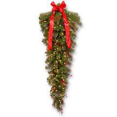 National Tree Company® 4' Crestwood Spruce Pre-Lit Teardrop Tree