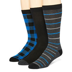 Stafford® Mens 3-pk. Crew Socks