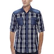 i jeans by Buffalo Mozz Long-Sleeve Woven Shirt