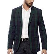 WD-NY® Blackwatch Plaid Sport Coat - Slim Fit