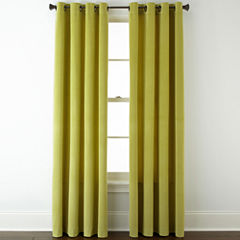 Studio™ Athens Velvet Grommet-Top Curtain Panel
