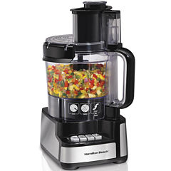 Hamilton Beach® Stack & Snap™ 12-Cup Food Processor