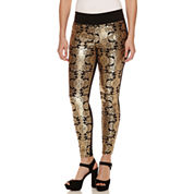 Bisou Bisou Foil Print Leggings