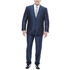 J.Ferrar Blue Luster Suit Separates - Big&Tall