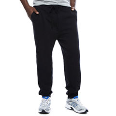 The Foundry Big & Tall Supply Co.™ Tapered-Fit Flat-Front Fleece Jogger Pants