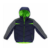 Boys Heavyweight Puffer Jacket-Big Kid