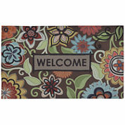 Mohawk Home® Floral Youth Rectangular Doormat - 18