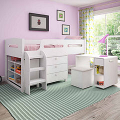 Madison 5 Pc All-In-One Loft Bed