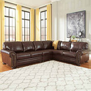 Signature Design by Ashley® Banner Loveseat Sectional