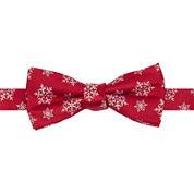IZOD® Pre-Tied Snowflake Bow Tie – Boys One Size