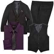 Van Heusen® Black Suit Separates - Boys 8-20