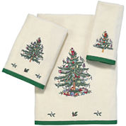 Spode® Christmas Tree Bath Towels