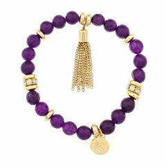 Liz Claiborne Purple Jewelry Set