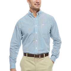 Dockers Long Sleeve Plaid Button-Front Shirt