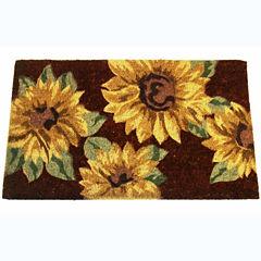 Sunflowers Rectangular Doormat - 18